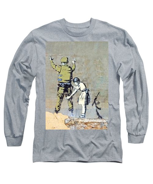 Switch Roles Long Sleeve T-Shirt by Munir Alawi