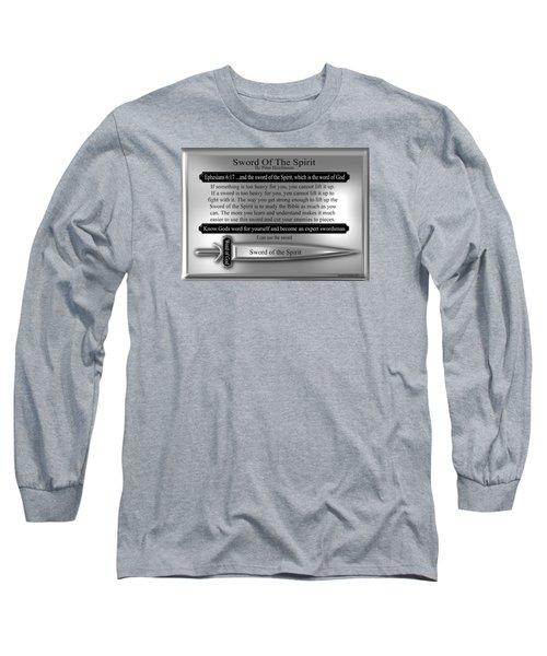 Sword Of The Spirit Long Sleeve T-Shirt