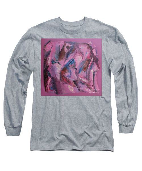 Long Sleeve T-Shirt featuring the painting Syncopation 5 by Mini Arora