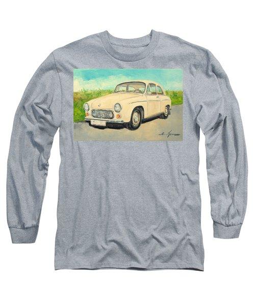 Syrena 105 - Polish Car Long Sleeve T-Shirt