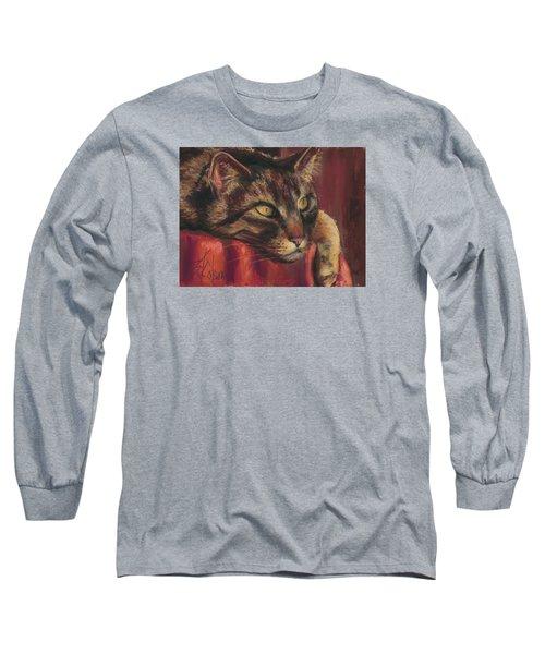 Tabby Nap Long Sleeve T-Shirt by Billie Colson