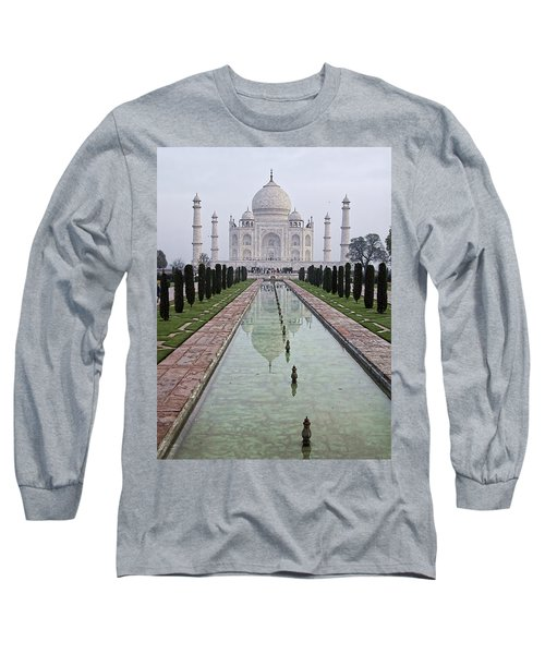 Taj Mahal Early Morning Long Sleeve T-Shirt