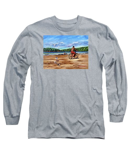 Taking A Ride  Long Sleeve T-Shirt