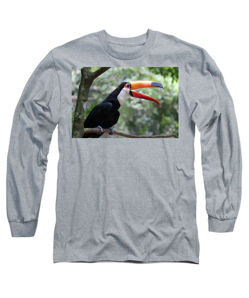 Talkative Toucan Long Sleeve T-Shirt