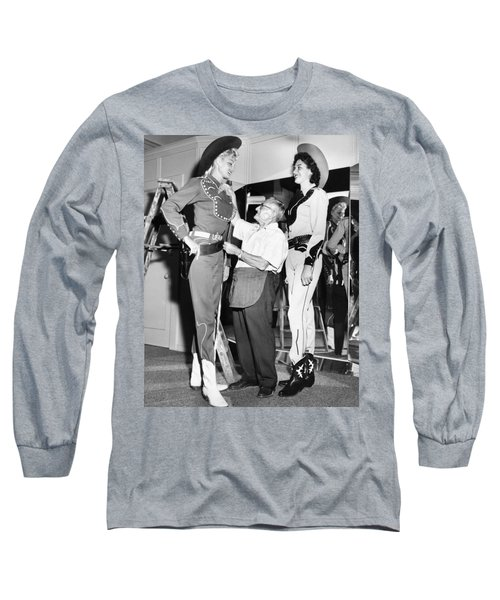 Tall Cowgirls Get Fitted Long Sleeve T-Shirt