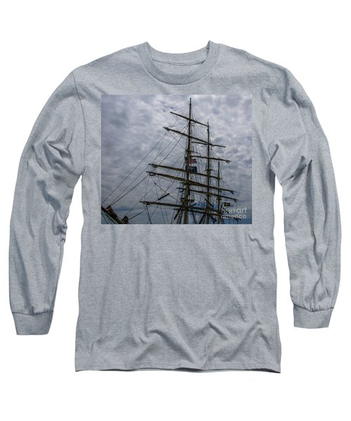 Sailing The Clouds Long Sleeve T-Shirt by Dale Powell