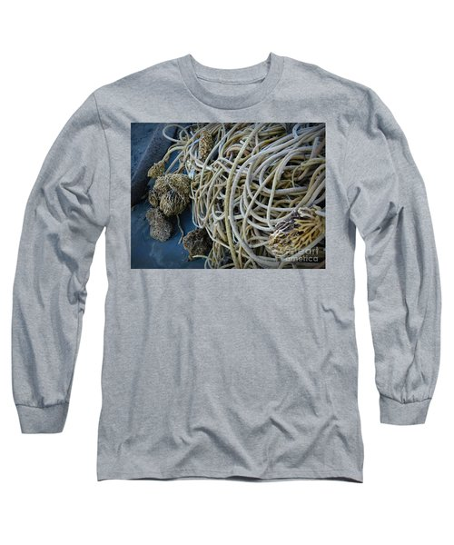 Tangles Of Seaweed 2 Long Sleeve T-Shirt by Chalet Roome-Rigdon