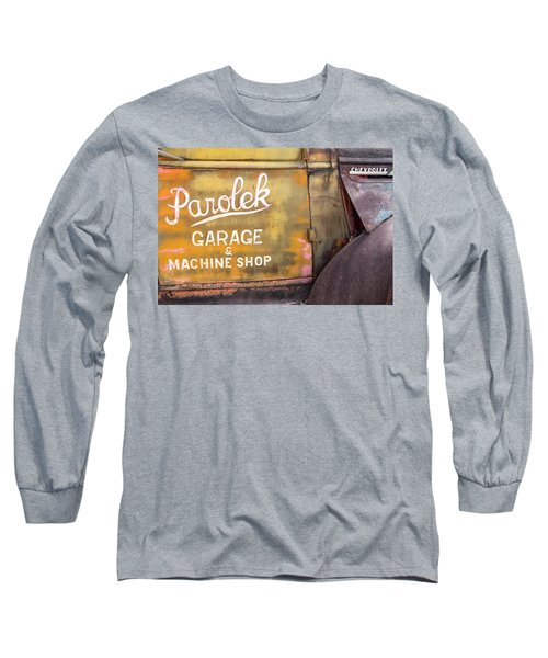 Long Sleeve T-Shirt featuring the photograph Taos Chevy by Steven Bateson