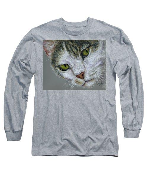 Tara Cat Art Long Sleeve T-Shirt