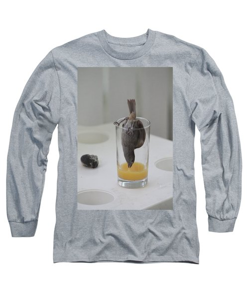 Tasty Juice Long Sleeve T-Shirt by Catie Canetti