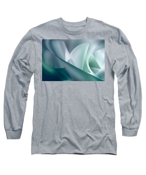 Teal Beam Long Sleeve T-Shirt