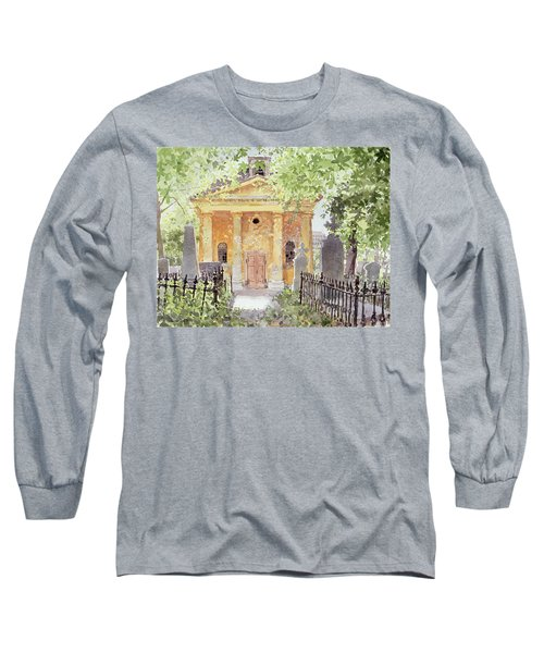 Temple Of Harmony, Vesprem, Hungary, 1996 Wc On Paper Long Sleeve T-Shirt