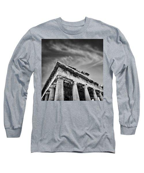 Temple Of Hephaestus- Athens Long Sleeve T-Shirt