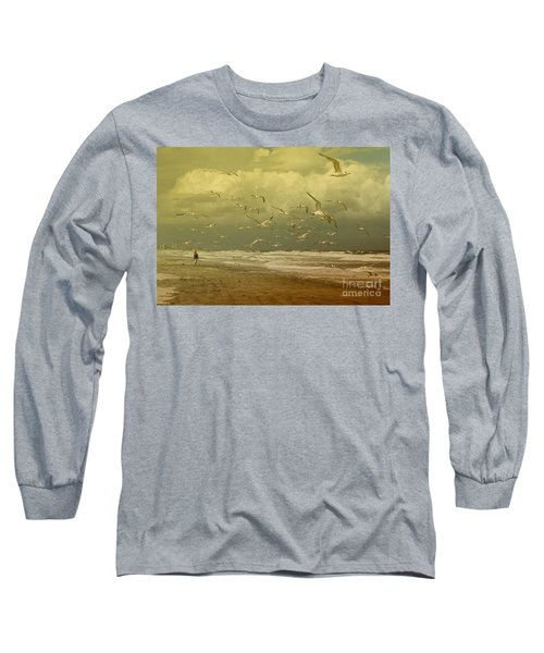 Terns In The Clouds Long Sleeve T-Shirt