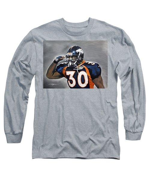 Terrell Davis  Long Sleeve T-Shirt