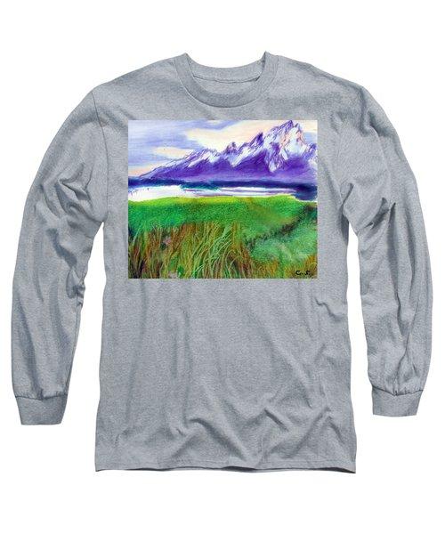 Teton View Long Sleeve T-Shirt