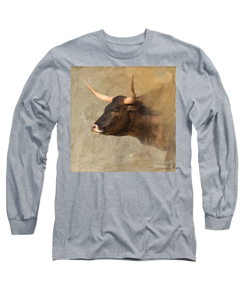 Texas Longhorn # 3 Long Sleeve T-Shirt