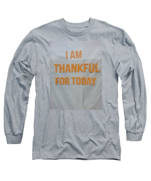 Thankful  Long Sleeve T-Shirt