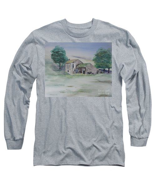 The Abandoned House Long Sleeve T-Shirt by Martin Howard