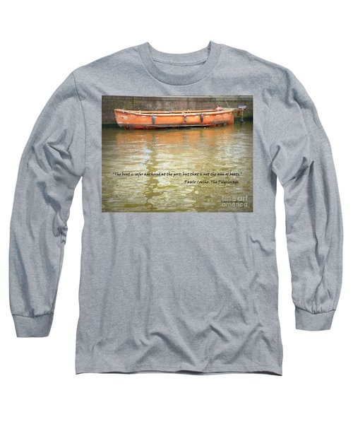 The Aim Of Boats Long Sleeve T-Shirt