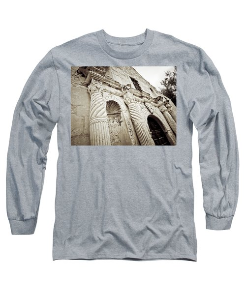 The Alamo Long Sleeve T-Shirt by Linda Unger