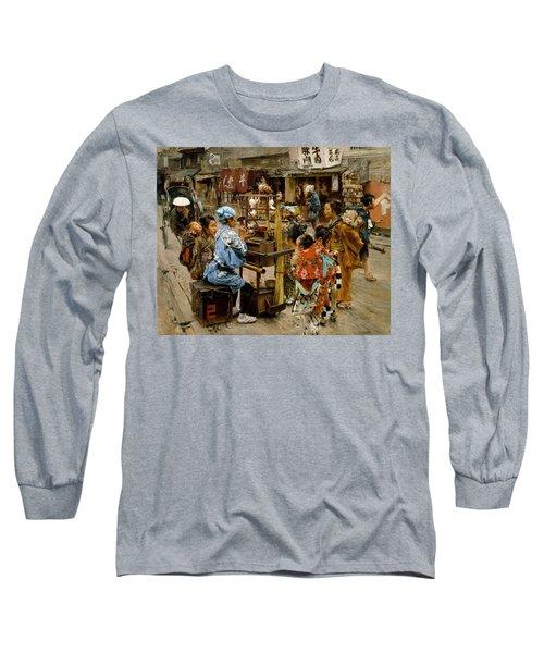 The Ameya Long Sleeve T-Shirt by Robert Frederick Blum