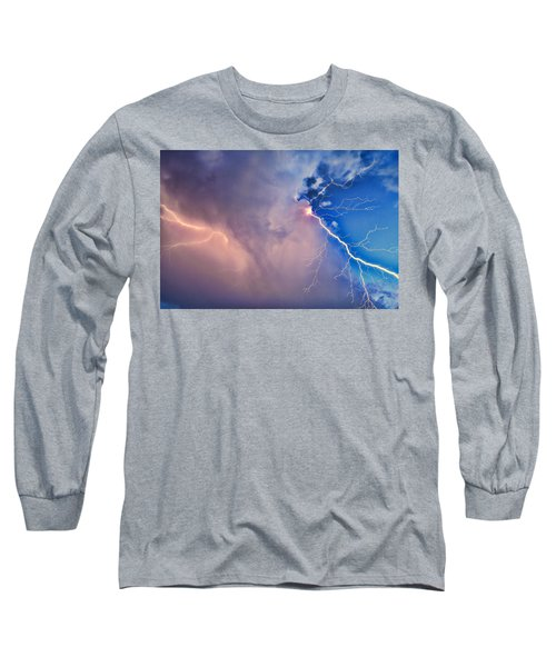 The Arrival Of Zeus Long Sleeve T-Shirt