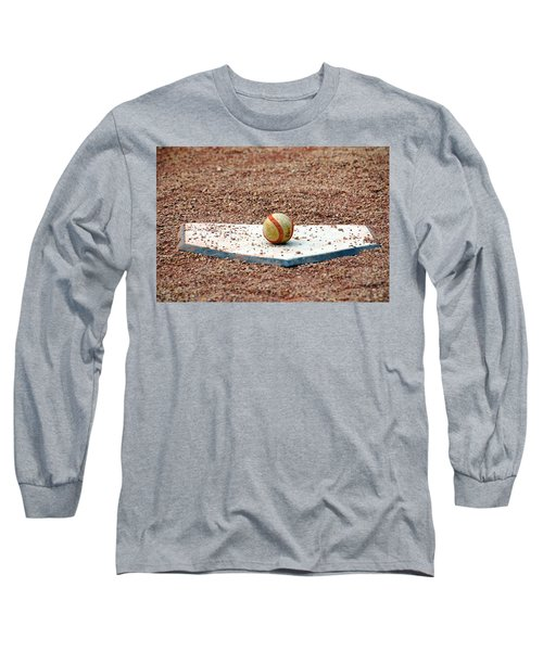 The Ball Of Field Of Dreams Long Sleeve T-Shirt