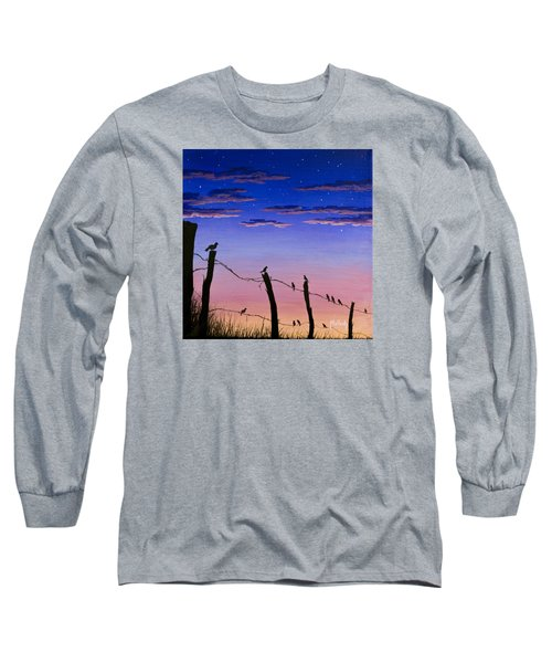 The Birds - Morning Has Broken Long Sleeve T-Shirt