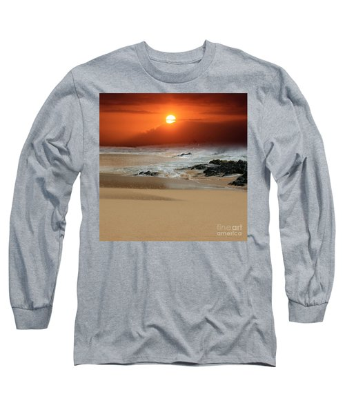 The Birth Of The Island Long Sleeve T-Shirt