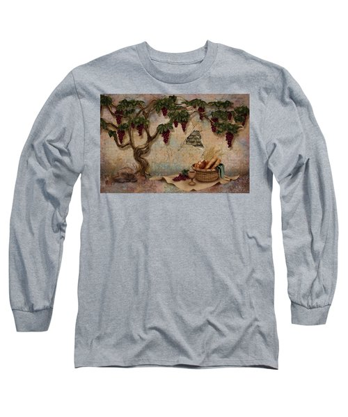 The Bread And The Vine Long Sleeve T-Shirt