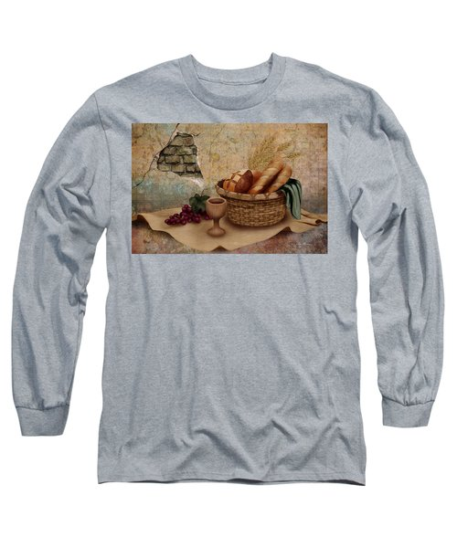 The Bread Of Life Long Sleeve T-Shirt
