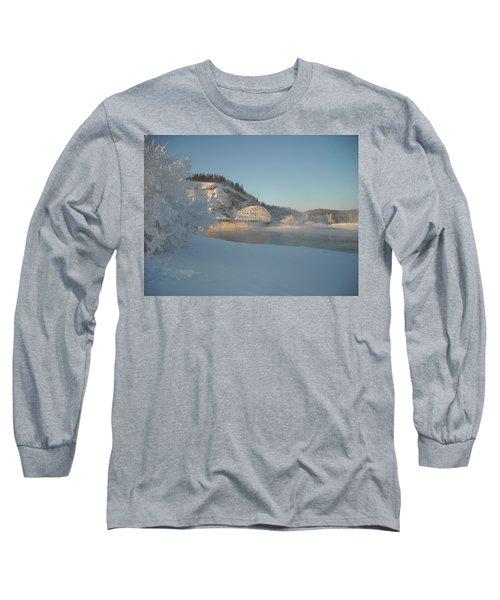 The Bridge At Big Delta 2 Long Sleeve T-Shirt