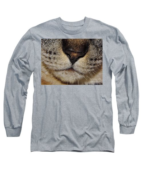 The - Cat - Nose Long Sleeve T-Shirt