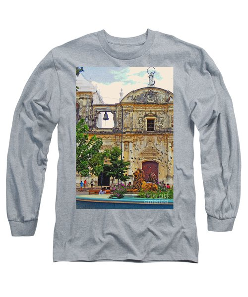 The Cathedral Of Leon Long Sleeve T-Shirt by Lydia Holly