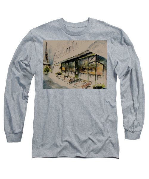 The Champs Elysees Long Sleeve T-Shirt