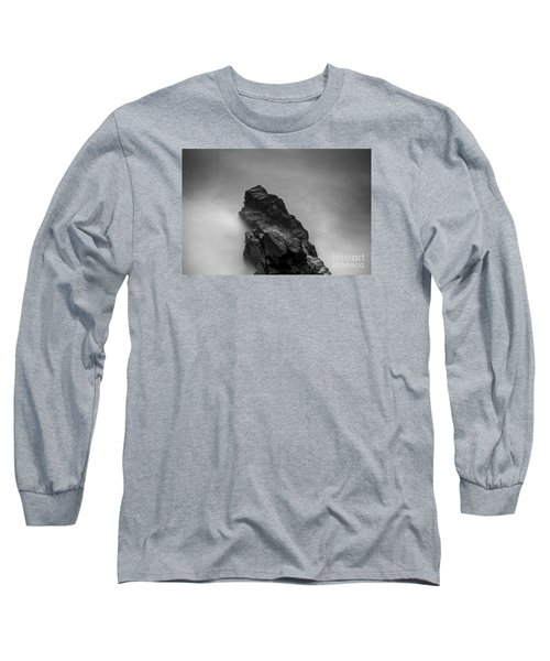Long Sleeve T-Shirt featuring the photograph The Cliff by Gunnar Orn Arnason