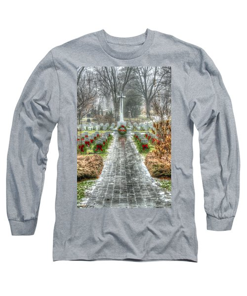 The Cross Of Sacrifice Long Sleeve T-Shirt
