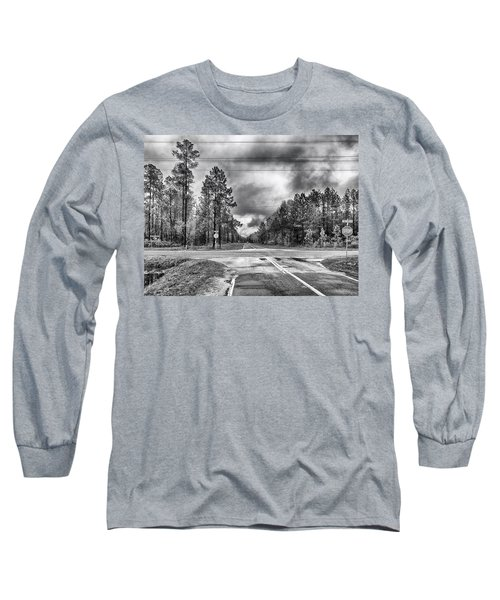 The Crossroads Long Sleeve T-Shirt by Howard Salmon