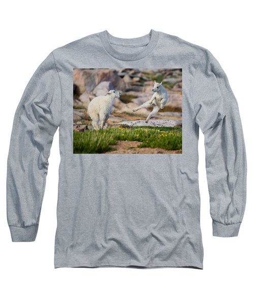 Long Sleeve T-Shirt featuring the photograph The Dance Of Joy by Jim Garrison