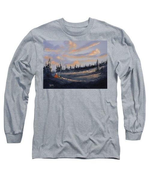 The Days End Long Sleeve T-Shirt by Richard Faulkner