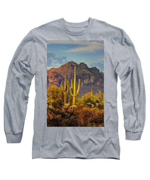 The Desert Golden Hour II  Long Sleeve T-Shirt