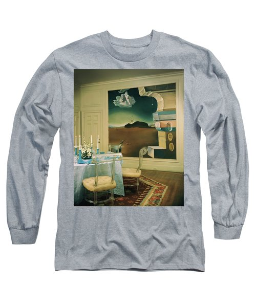 The Dining Room Of Princess Gourielli Long Sleeve T-Shirt
