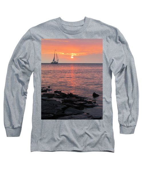 The Edith Becker Sunset Cruise Long Sleeve T-Shirt