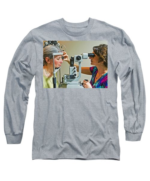 The Eye Doctor Long Sleeve T-Shirt by Keith Armstrong