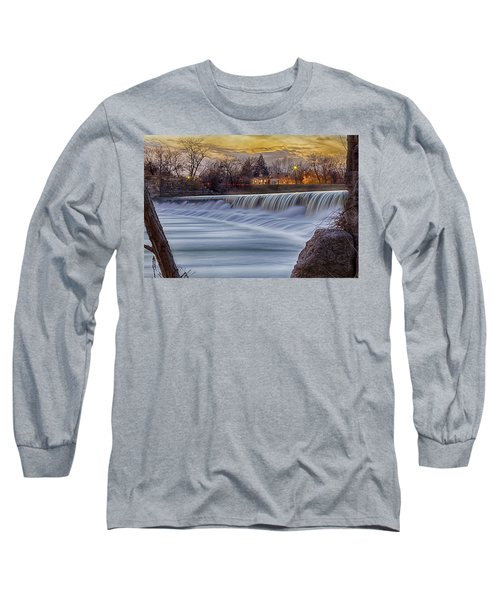 The Falls Of White River Long Sleeve T-Shirt