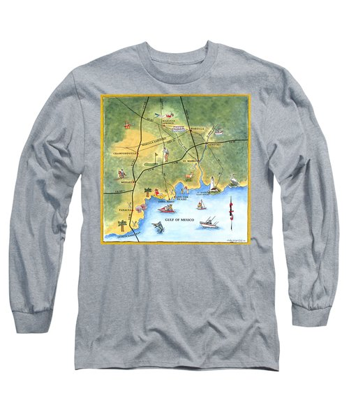 The Forgotten Coast St. Marks Long Sleeve T-Shirt