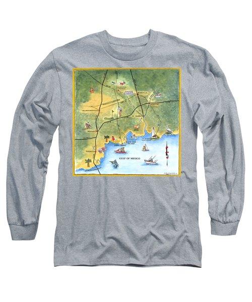 The Forgotten Coast St. Marks Long Sleeve T-Shirt