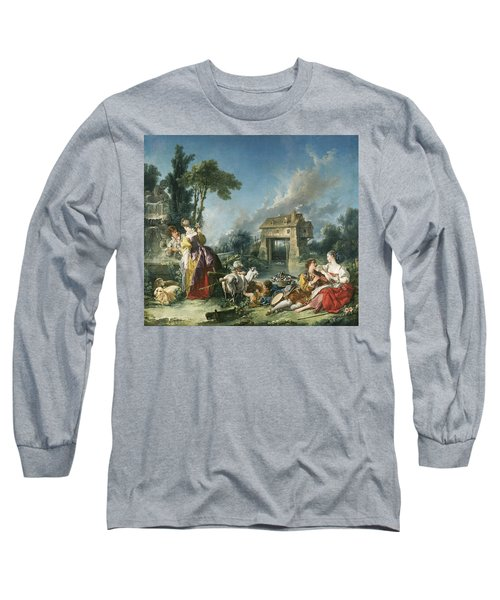 The Fountain Of Love Long Sleeve T-Shirt