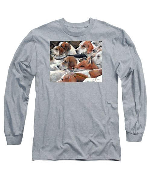 Fox Play Long Sleeve T-Shirt by Donna Tucker